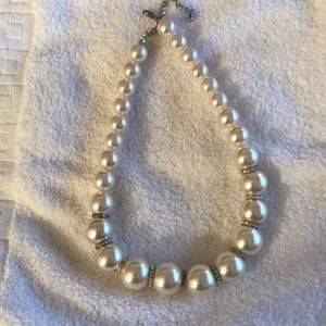 Fake Pearl Necklace